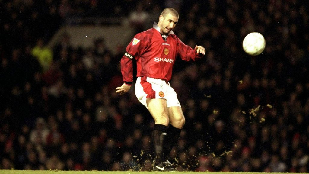Eric Cantona at Manchester United