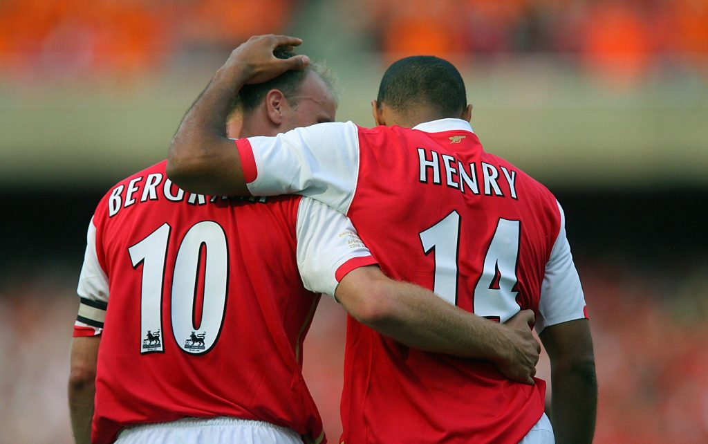 dennis bergkamp and thierry henry